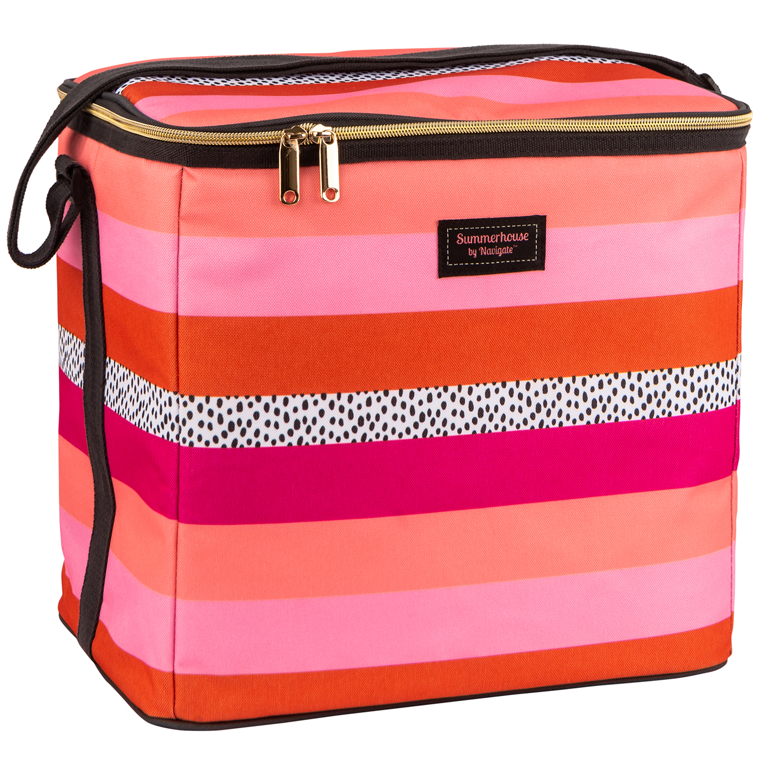 Navigate – Summerhouse 'Tribal Fusion' Stripe 20L Family Insulated Cool Bag