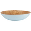 Navigate – Summerhouse Coral Willow Wood Salad/Serving Bowl