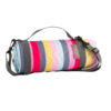 Navigate – Three Rivers Navy Stripe Picnic Blanket/Rug with Carry Handle